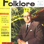 Tapa de Revista Folklore Nº 2