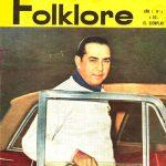 Tapa de Revista Folklore Nº 4