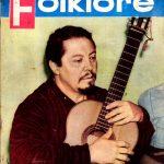Tapa de Revista Folklore Nº 8