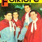 Tapa de Revista Folklore Nº 13