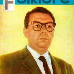 Tapa de Revista Folklore Nº 14
