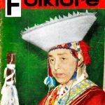 Tapa de Revista Folklore Nº 16