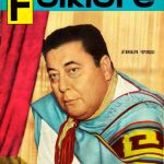Tapa de Revista Folklore Nº 20