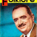 Tapa de Revista Folklore Nº 23