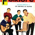 Tapa de Revista Folklore Nº 54