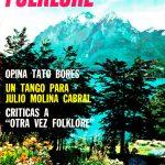 Tapa de Revista Folklore Nº 103