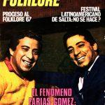 Tapa de Revista Folklore Nº 154