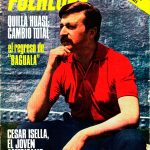 Tapa de Revista Folklore Nº 155