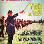 Tapa de Revista Folklore Nº 197