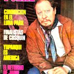 Tapa de Revista Folklore Nº 215