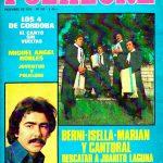 Tapa de Revista Folklore Nº 252