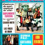 Tapa de Revista Folklore Nº 262