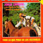 Tapa de Revista Folklore Nº 266