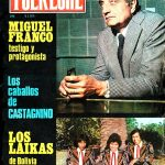 Tapa de Revista Folklore Nº 296