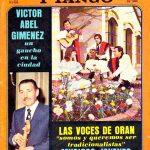 Tapa de Revista Folklore Nº 308
