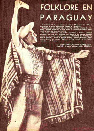 Folklore en Paraguay (Primera parte)